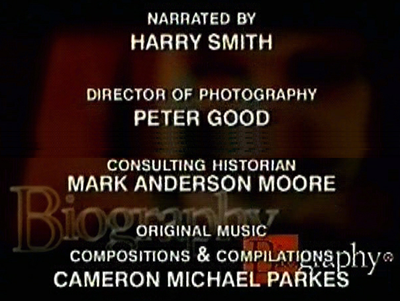 Mark A. Moore A&E Biography Credit