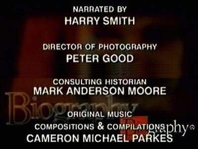 Mark A. Moore A&E Biography Credit