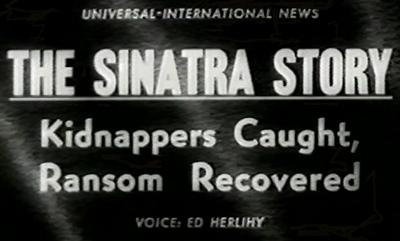 Sinatra Kidnapping