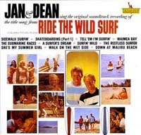 Ride the Wild Surf LP, 1964