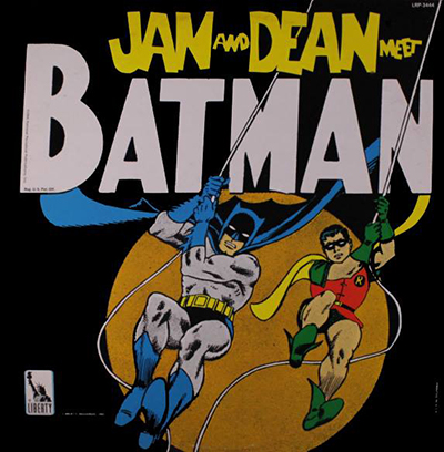 Kan & Dean Meet Batman LP, 1966