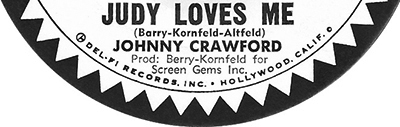 Judy Loves Me, Jan Berry, Johnny Crawford