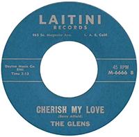 Cherish My Love, The Glens, Jan Berry
