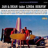 Jan & Dean Take Linda Surfin' LP, 1963