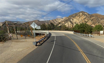 Piru Creek Bridge, Eastern Side