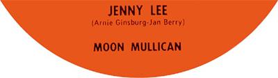 Jenny Lee (Jennie Lee), Moon Mullican, 1958