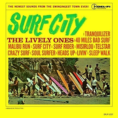 Syrf City LP, The Lively Ones, 1963